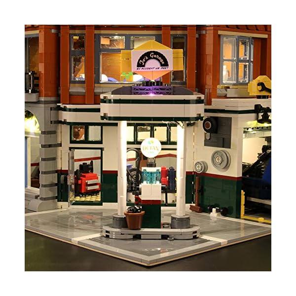 LIGHTAILING Set di Luci per (Creator Expert Corner Garage) Modello da Costruire - Kit Luce LED Compatibile con Lego… 3 spesavip