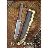 Wikinger Saxmesser Typ 1, ca. 28 cm Dolch Messer LARP Ritter Samurai Mittelalter Verkauf ab 18 Jahren