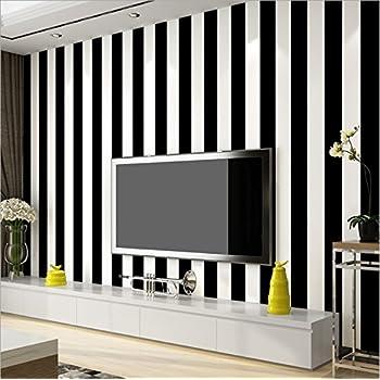 Cr/éation Papier peint intiss/é Bling Bling noir blanc 10,05 m x 0,53 m 315151 A.S