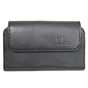 A1 Horizontal Leather Carry Case Mobile Pouch Premium Cover Holder For Yu Yureka Note Black
