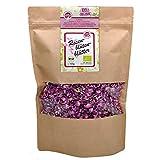 direct&friendly Premium Bio Rosenblütenblätter getrocknet Essblüten im Nachfüllpack (100 gr)