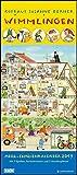 Wimmlingen 2019 – DUMONTMega-Familienkalender mit 7 Spalten – Familienplaner mit 2 Stundenplänen und Ferientabelle - Hochformat 30,0 x 68,5 cm