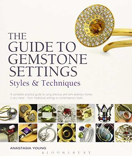 Portada del libro Guide to Gemstone Settings: Styles and Techniques by Anastasia Young (2012-04-01)