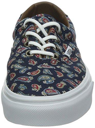 Vans U ERA 59 Unisex-Erwachsene Sneakers Blau ((Paisley) eclip / DNK)
