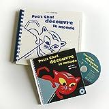 Petit Chat Découvre le Monde (+CD +Braille et Gros Caractères)