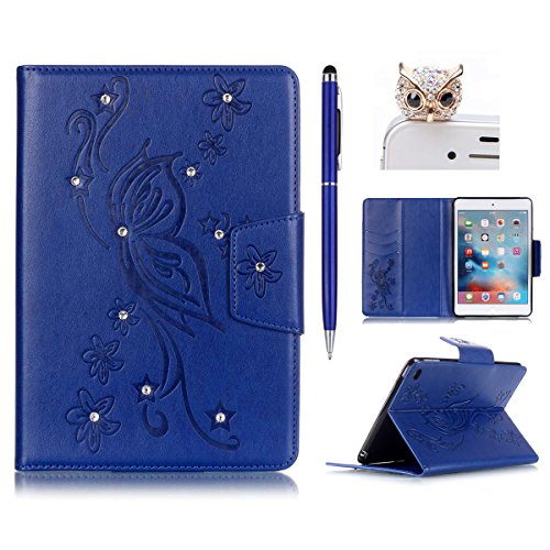 Felfy-Coque-Pour-iPad-6tui-iPad-AiriPad-Air-CaseUltra-Mince-Plating-Placage-Coque-iPad-6-Silicone-tui-Housse-TPU-Clair-clat-Bling-Bling-Brillant-Scintillant-Cristal-Glitter-Diamant-Strass-Fleur-Motif-