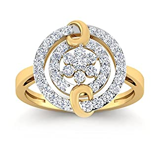 PC Jeweller The Helenka 18KT Yellow Gold & Diamond Rings