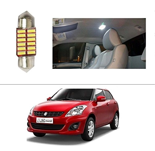 AutoStark 12 LED Roof Light Car Dome Light Reading Light For Maruti Suzuki Swift Dzire (New)  available at amazon for Rs.99