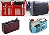 Borsetta organizer per borsa in nylon , utilissimo per avere tutto in ordine nella borsetta, ma utilizzabile anche in casa o in ufficio. Dotato di 10 tasche di varie dimensioni e di due vani, così da poter separare tutti gli oggetti presen...