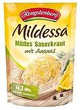 Hengstenberg Mildessa Mildes Sauerkraut mit Ananas, 6er Pack (6 x 400 g)