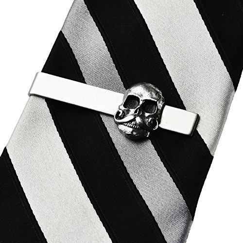 Calavera Tie Clip