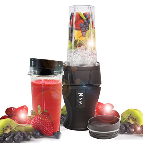 Nutri Ninja Slim Blender & Smoothie Maker QB3001EU - Black