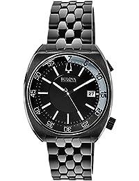 (CERTIFIED REFURBISHED) Bulova Accutron Ii Analog Black Dial Men's Watch - 98B219
