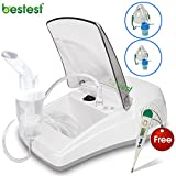 Bestest Compressor Nebulizer Plus complete kit with Child and Adult Mask