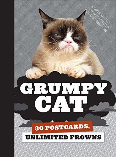 Grumpy Cat Postcard Book ()