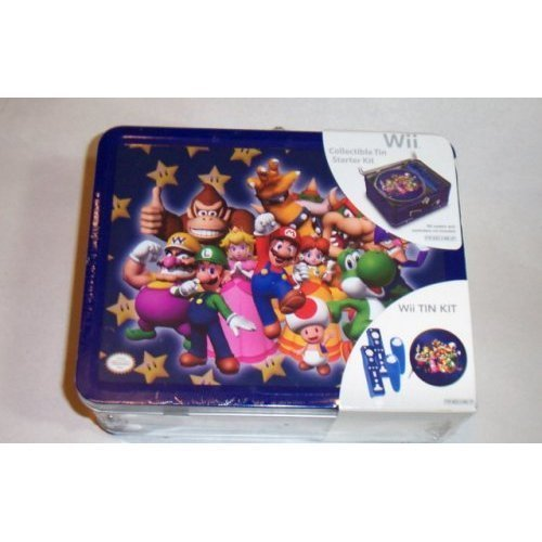 WII DONKEY KONG & FRIENDS COLLECTIBLE TIN AND STARTER KIT by Nintendo (Starter Kit Wii)