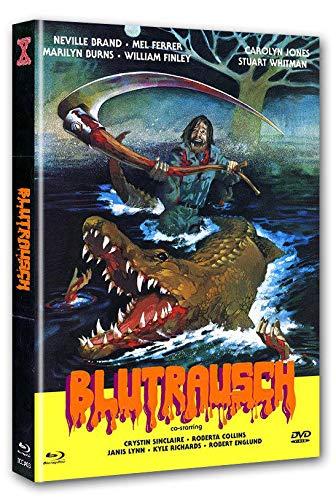 Blutrausch - Eaten Alive (1977) UNCUT 2-Disc Mediabook (Cover B) - limitiert & nummeriert auf 333 Stk. [Blu-ray]