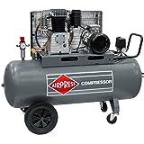 Airpress® ölgeschmierter Druckluft-Kompressor HK 650-200 (4 kW, 11 bar,200l Kessel, 400 Volt) großer Kolben-Kompressor