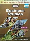 TOP NIOS Business Studies Guide Class 10 (T-215)