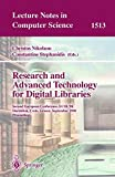 Research and Advanced Technology for Digital Libraries: Second European Conference, ECDL'98, Heraklion, Crete, Greece, September 21-23, 1998, Proceedings (Lecture Notes in Computer Science, Band 1513)