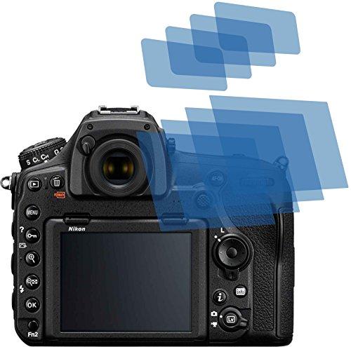 4x ANTIREFLEX matt Schutzfolie für Nikon D850 Displayschutzfolie Bildschirmschutzfolie Schutzhülle Displayschutz Displayfolie Folie