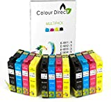 12 XL High Capacity Colour Direct Compatible Ink Cartridges Replacement For Epson Expression Home XP102, XP202, XP212, XP215, XP205, XP30, XP302, XP305, XP312, XP315 XP402, XP412, XP415, XP405 XP405WH , EXPRESSION HOME XP225 XP322 XP325 XP422 XP425 Printers 3 Black 3 Cyan 3 Magenta 3 Yellow