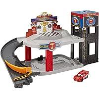 Cars Disney Pixar Cars Piston Cup Racing Garage, Multi Color