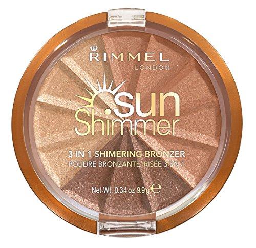 Rimmel Sun Shimmer Bronzing Compact Powder - Bronze Goddess No.002 - 9,9g -