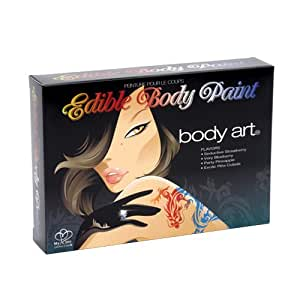 Edible Body Paint - Body ART