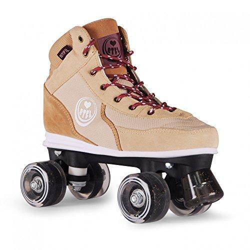 BTFL Rollschuhe für Damen und Mädchen/Discoroller/Rollerskates Trends Coco (EU: 36-42) Größe 42