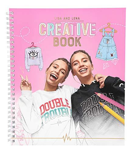 Depesche 10371 - Malbuch Creative Book, Lisa und Lena J1MO71