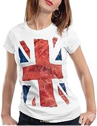 style3 Union Jack T-Shirt Women great britain united kingdom flag