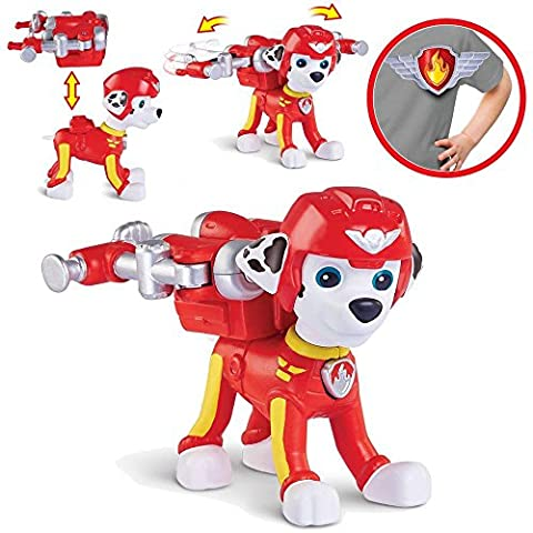 Paw Patrol - Sélection Deluxe Caractère - Air Rescue Figures, Maja:Marshall