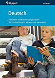 Tierfabeln erarbeiten, gestalten   Rechtschreibung: Grundschule 3-4. Schülerheft (3. und 4. Klasse) (Klippert Grundschule)