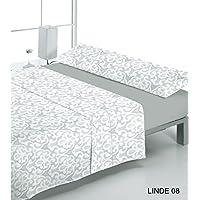 JUEGO DE SÁBANAS cama de 135 gris Reig Martí modelo LANDE