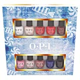 OPI Nussknacker Collection Mini 10er Set Nagellack in opulenter Farbe