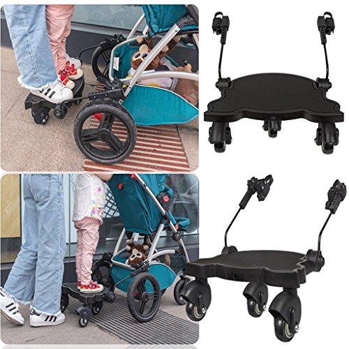 magideal kiddyboard buggyboard trittbrett mitfahrbrett rollbrett f r kinderwagen buggy. Black Bedroom Furniture Sets. Home Design Ideas