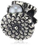 Trollbeads Damen-Bead 925 Sterling Silber weiß TAGBE-00036