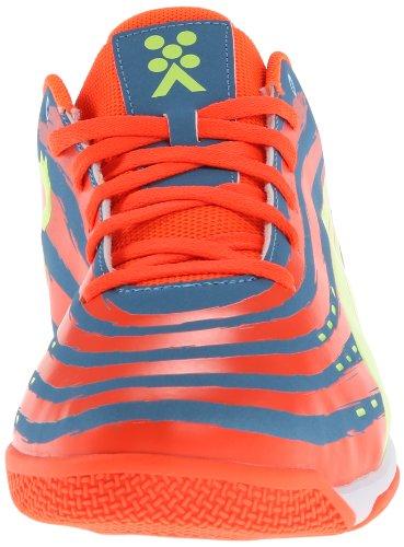 Puma Trovan Lite-FuÃ?ball-Schuh Sharks Blue/Fluorescent Peach/Fluorescent Yellow
