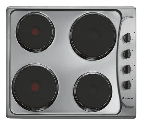 Candy PLE 64 X hob - hobs (built-in, Electric, Stainless steel, Stainless steel, Rotary)