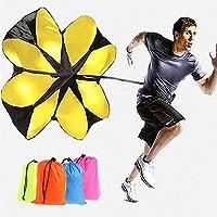 """UNIVIEW Las bandas de resistencia, 56"""" ejercicios de resistencia de Velocidad Chute ejecutan paracaídas entrenamiento de la potencia de entrenamiento de resistencia, terapia física, entrenamientos Ini"""