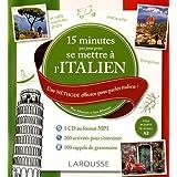 15 mn par jour pour se mettre à l'italien + CD