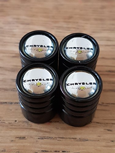 Speed Demon CHRYSLER SCHWARZ TOP DELUXE schwarz Rad Ventil Staubkappen EXKLUSIV AUS den US ALLE MODELLE 300C GRAND VOYAGER DELTA DELTA CROSSFIRE PT CRUISER (2)