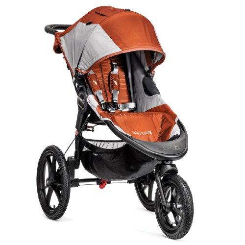 Baby Jogger Summit X3 - Carrito deportivo, color naranja / gris