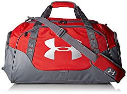 Under Armour X Storm, Duffle 3.0 Bag Unisex, Red,