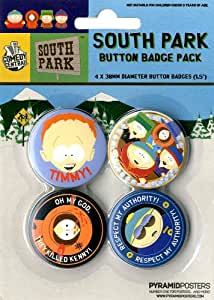 South Park - Official Badge Pack - New