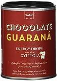 Xucker koffeinhaltige Drops mit Xylit und Guarana-Extrakt, ohne Zuckerzusatz, 100 g Dose, Energydrops Schoko-Guarana, 1003