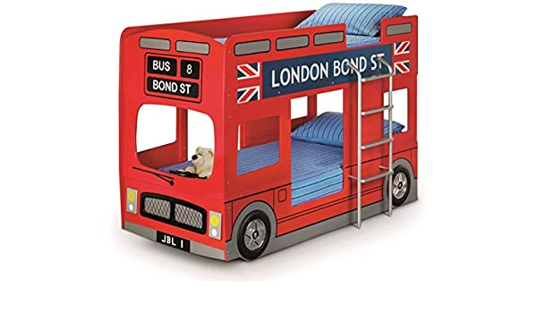 Etagenbett London Bus : Julian bowen london bus etagenbett rot: amazon.de: küche & haushalt