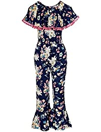 Naughty Ninos Girl's Rayon Trousers Suit