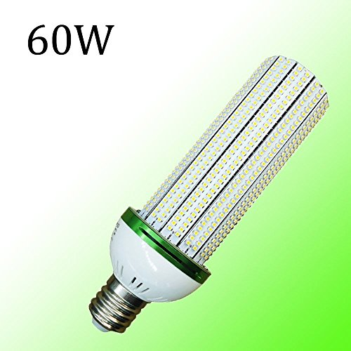 lederTEK Super Luminoso 60W E40 Luce Del Cereale, 6000K Energy Saving Bulb, Risparmio Energetico Lampada (Tutta La Casa Bypass)